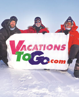 Vacations Magazine: Adventure to the North Pole