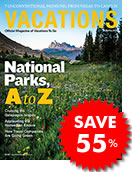 Save 41% off Vacations Magazine Subscription!