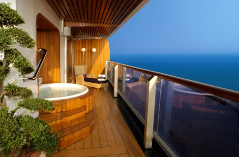Vacations Magazine: Spectacular Cruise Ship Suites