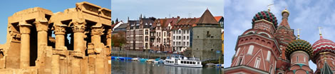 Vacations Articles: River Cruises